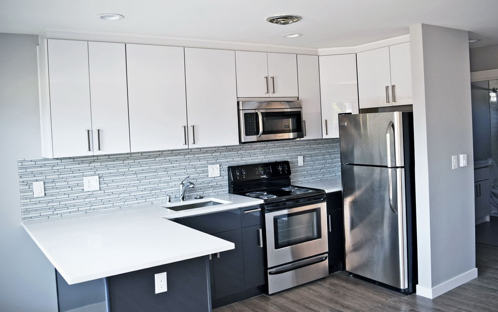 Charcoal Gray Kitchen Cabinets