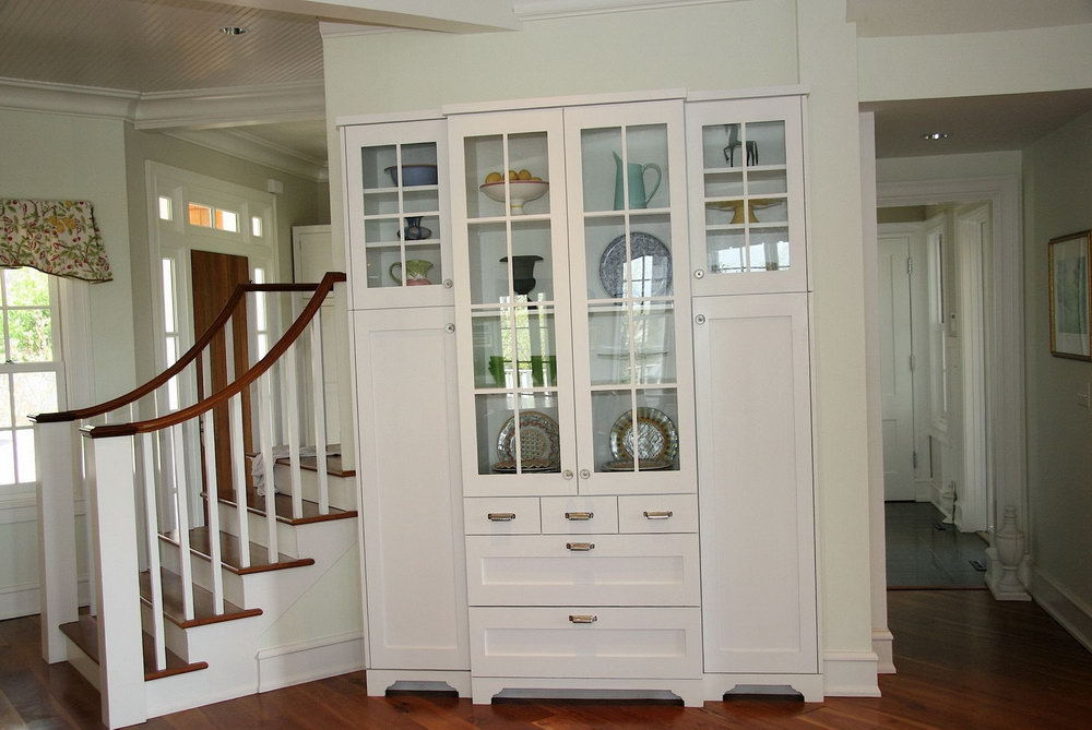 China White Kitchen Cabinets