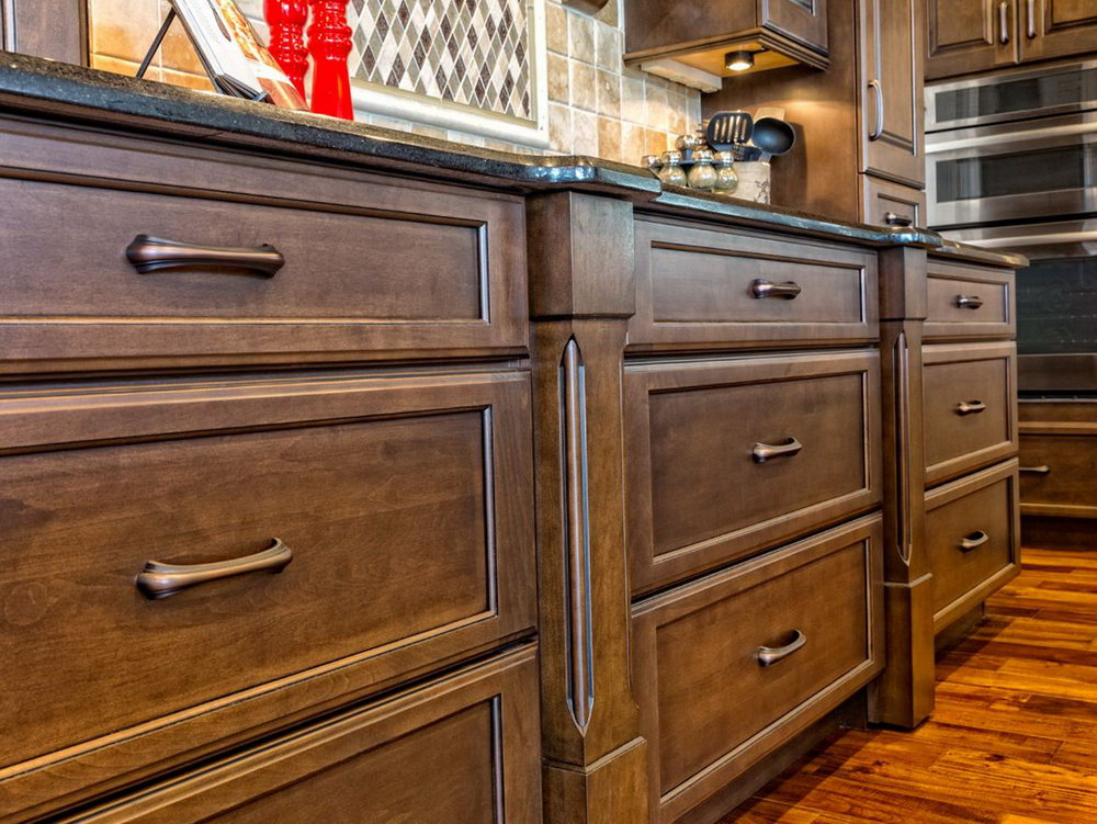 Clean Kitchen Cabinets Wood