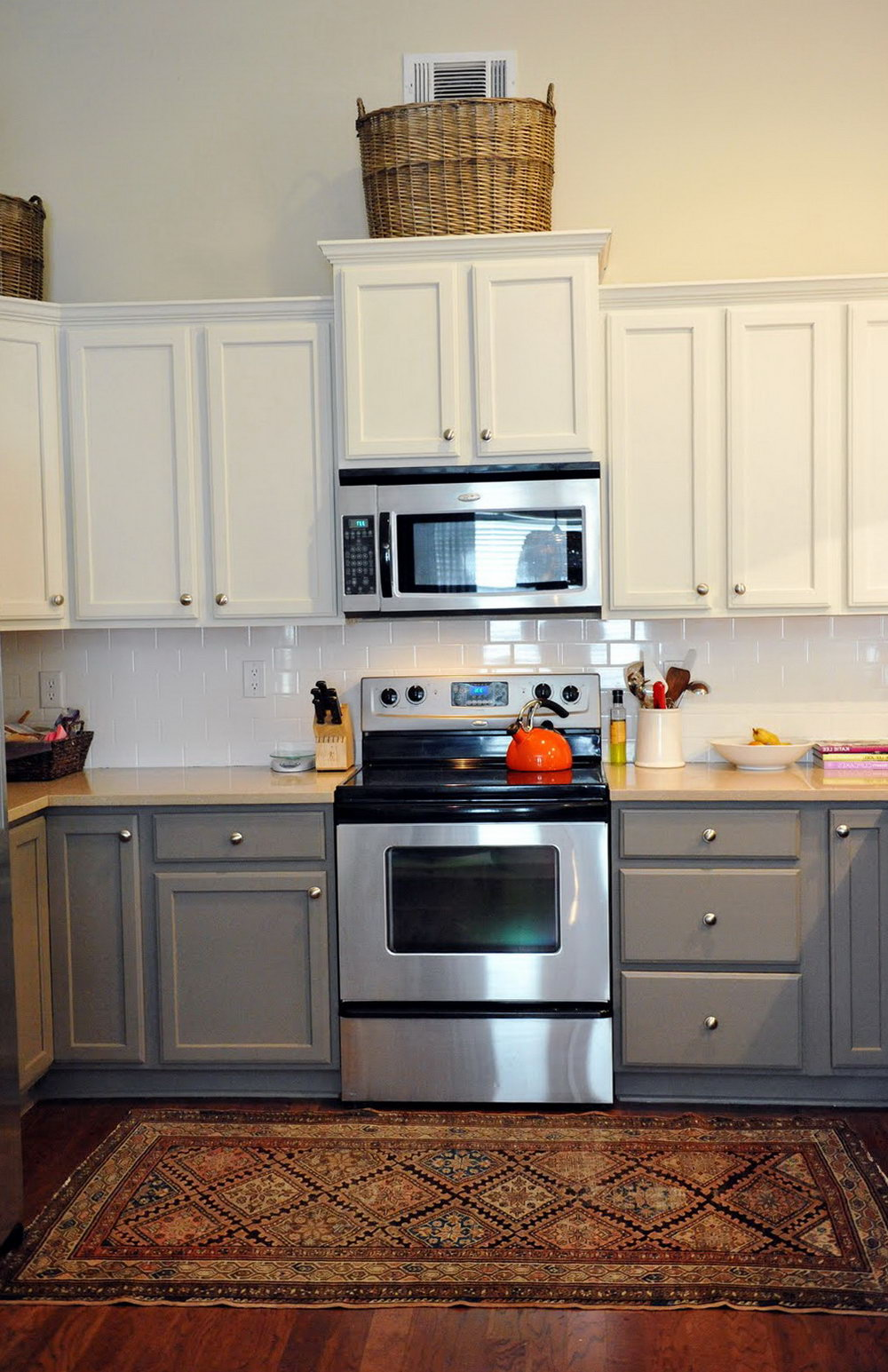 Colored Kitchen Cabinets Ideas