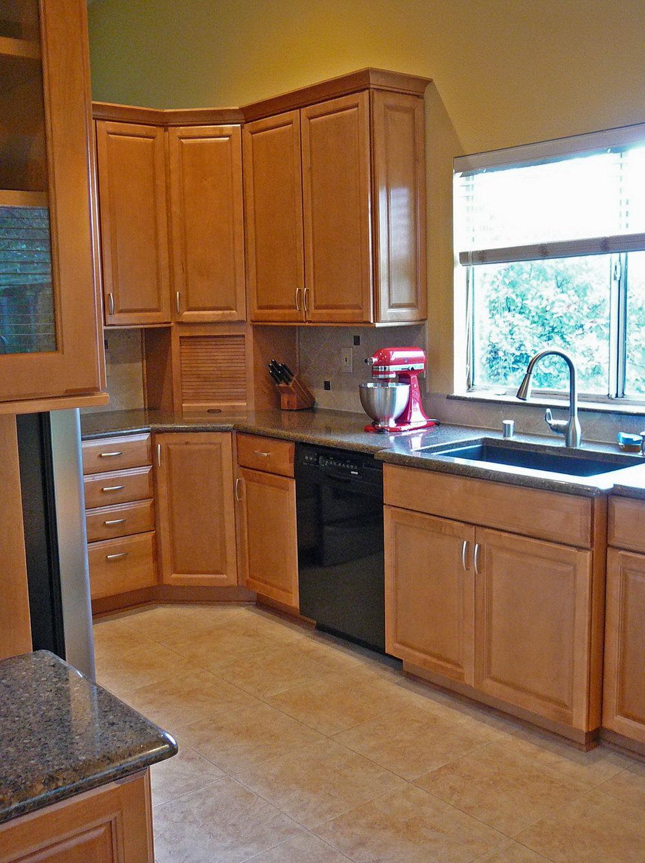 Corner Cabinet Kitchen Dimensions