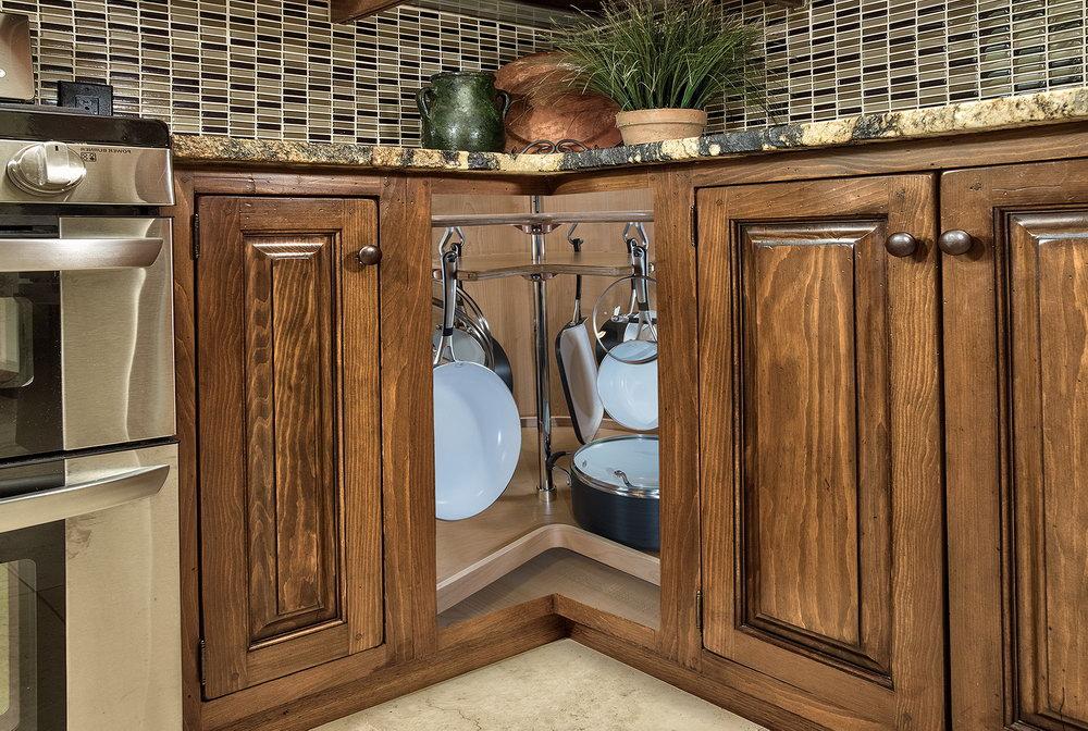 Corner Kitchen Cabinet Organization