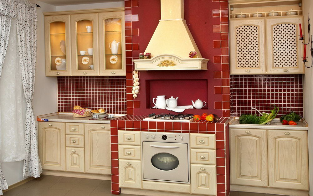 Country Kitchen Cabinets For Sale
