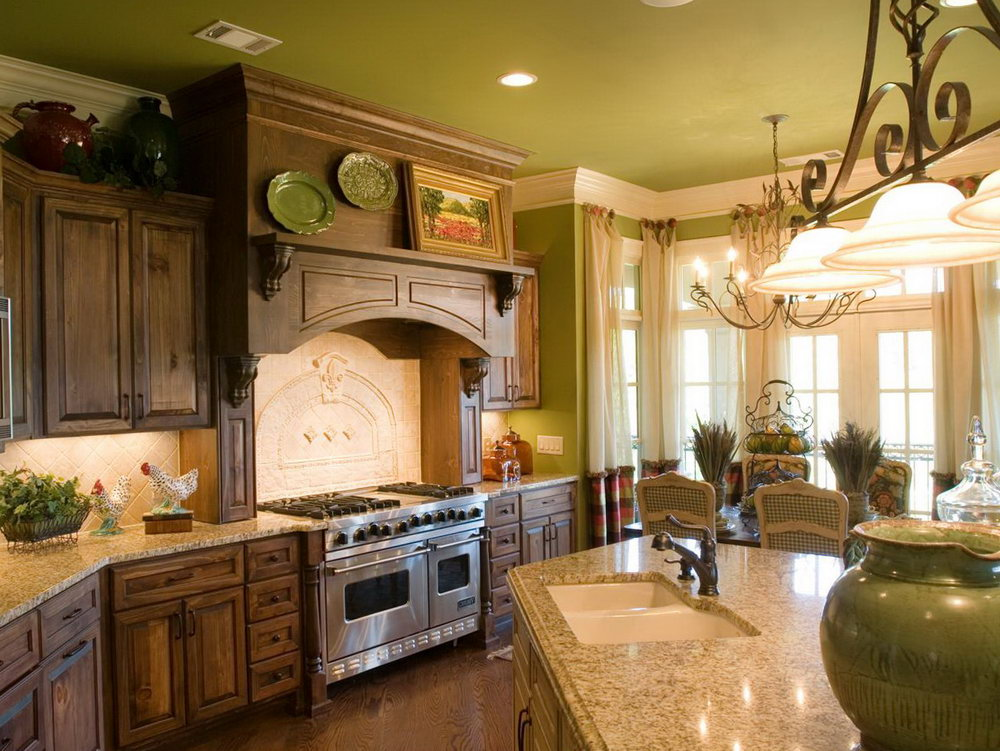 Country Kitchen Cabinets Images