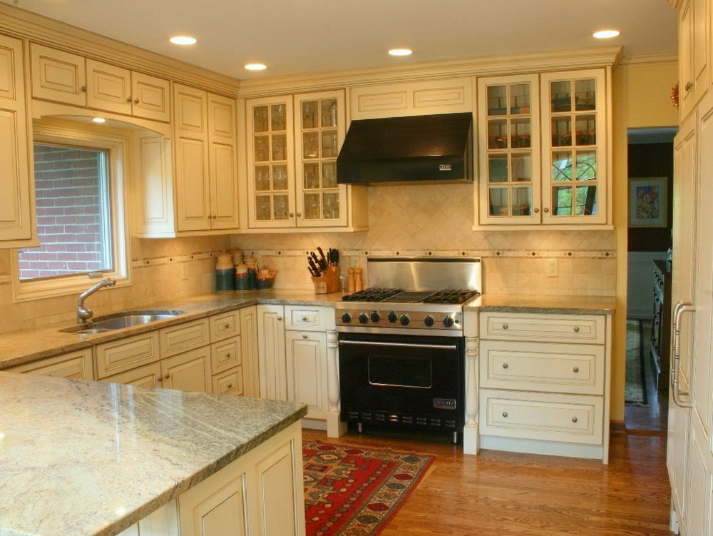 Cream Colored Kitchen Cabinets
