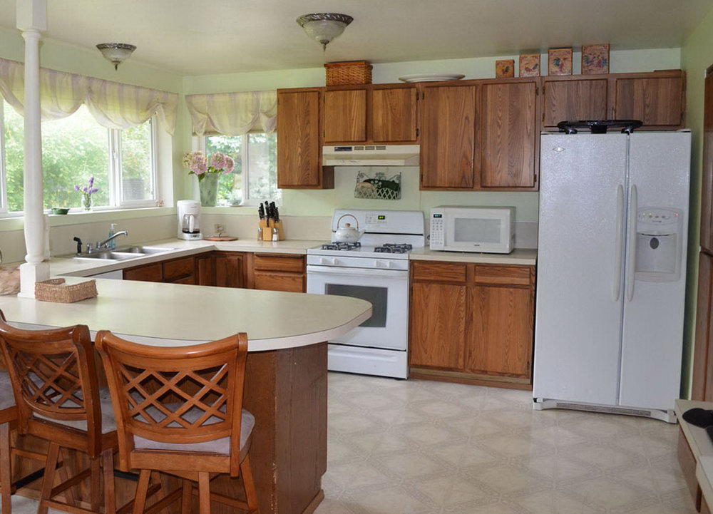 Diy Painting Kitchen Cabinets Before And After