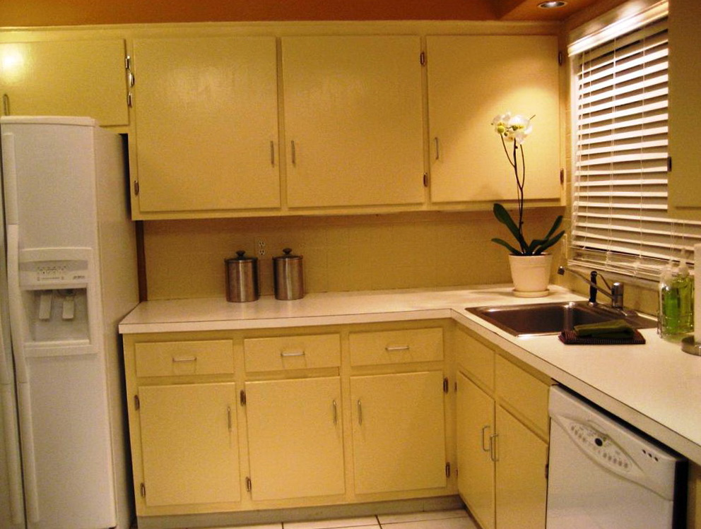 Diy Painting Kitchen Cabinets Video