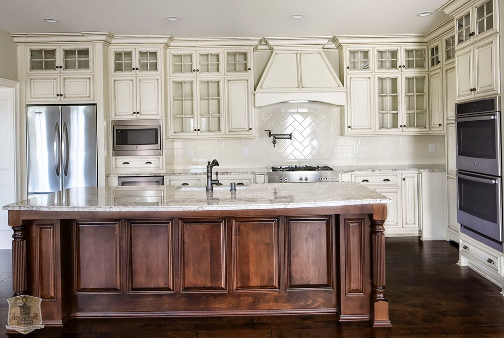 Flat Door Kitchen Cabinets