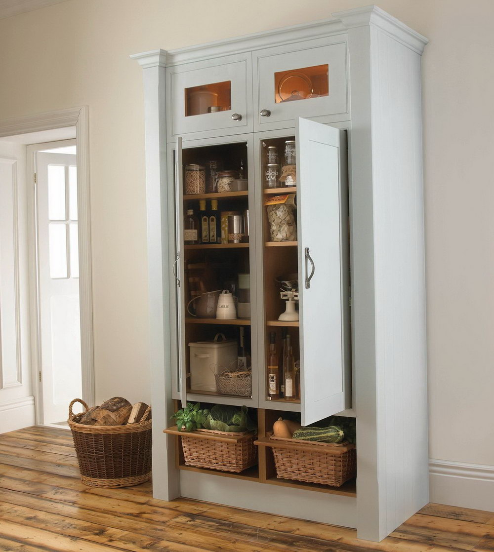 Free Standing Kitchen Pantry Cabinet Uk