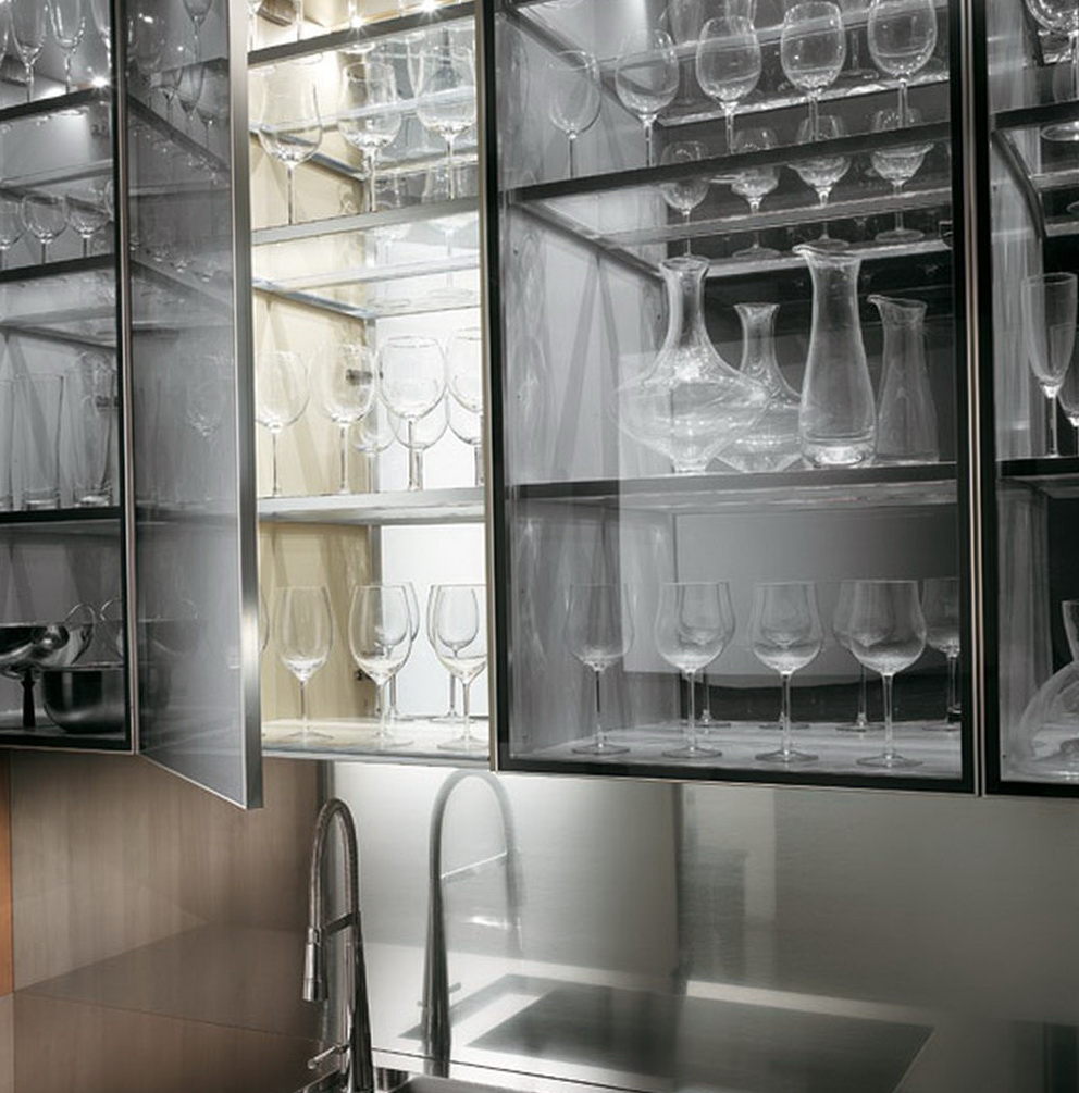 Glass Cabinets For Kitchen