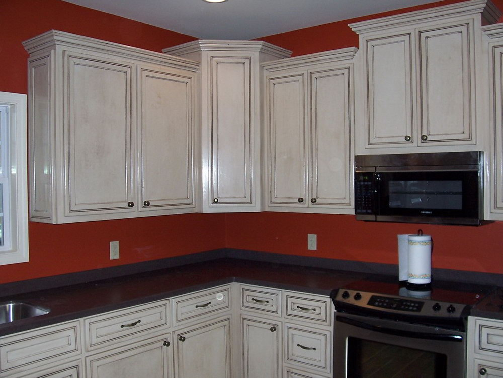 Glazed Kitchen Cabinets Colors