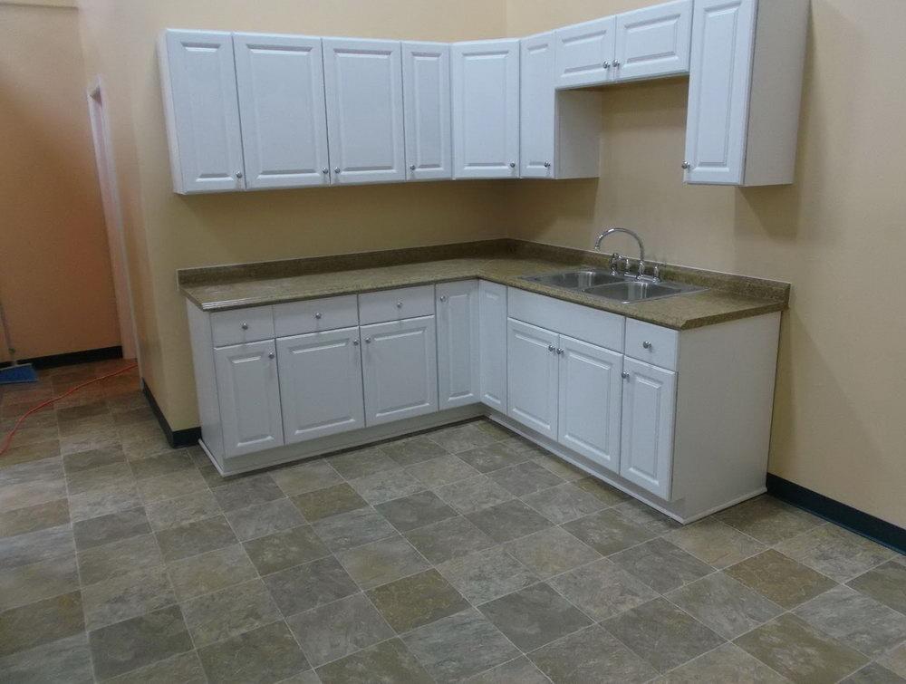 Hampton Bay White Kitchen Cabinets