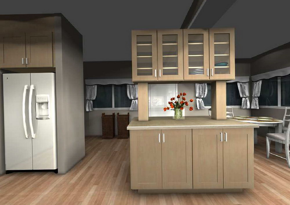 Hanging Kitchen Cabinets From Ceiling Pictures