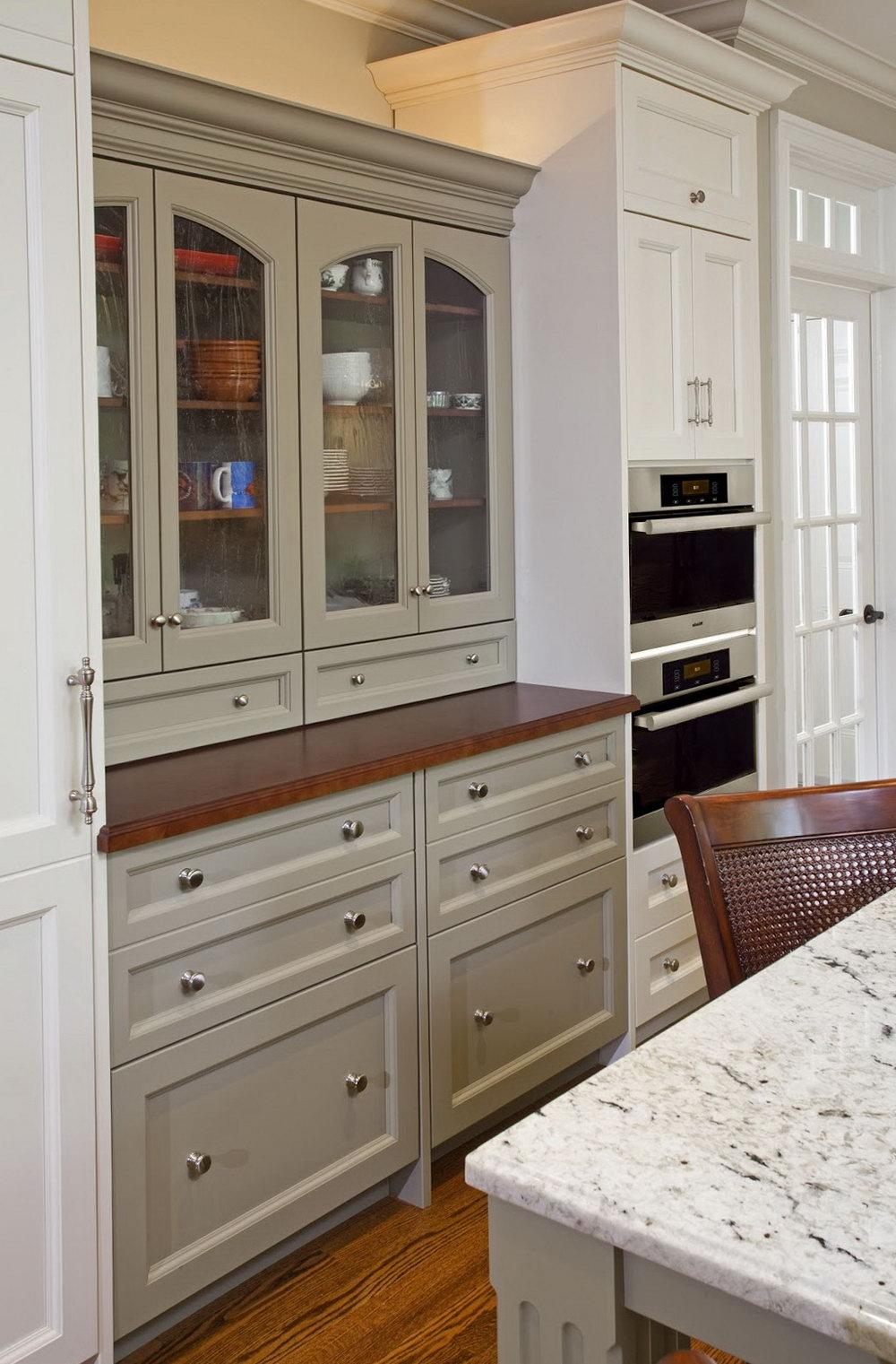 Houzz Grey Kitchen Cabinets