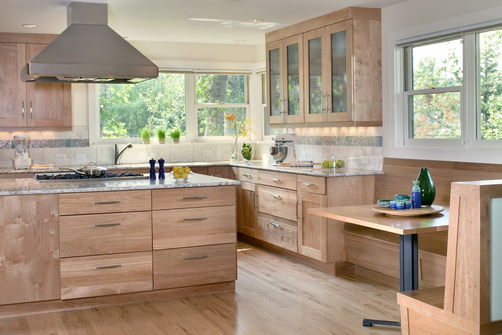 Houzz Kitchen Cabinets With Glass Doors