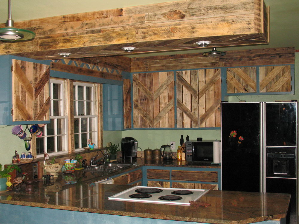 How To Make Kitchen Cabinets With Pallets