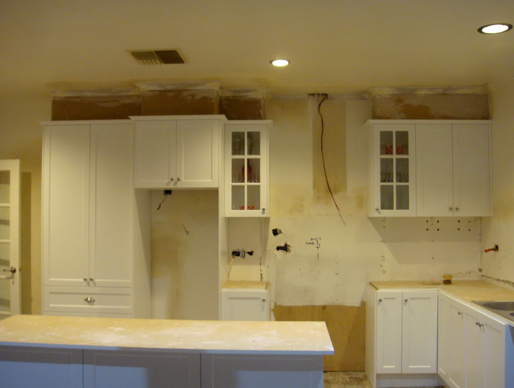 How To Remove Kitchen Cabinets From Wall