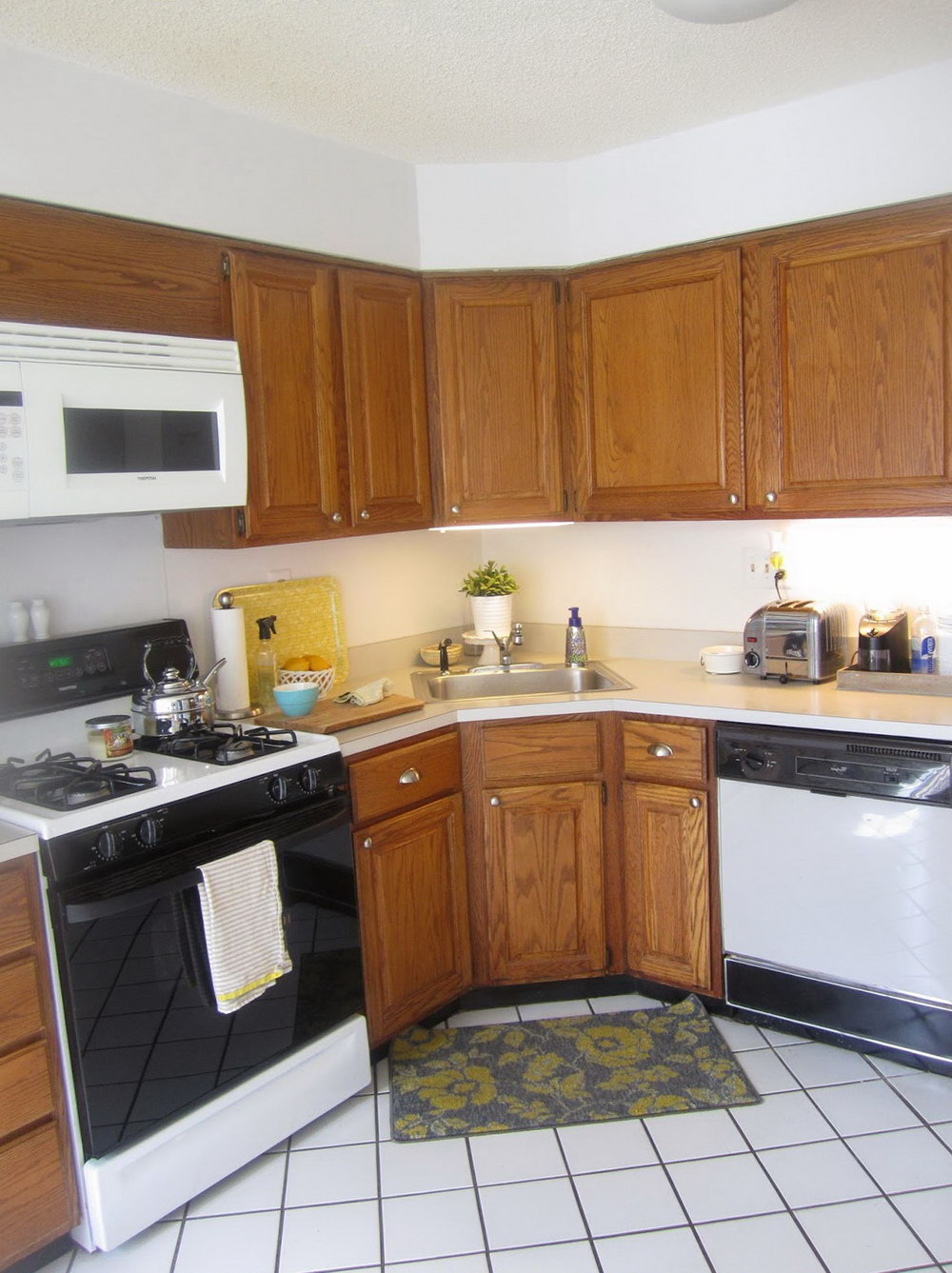 How To Restain Kitchen Cabinets Video