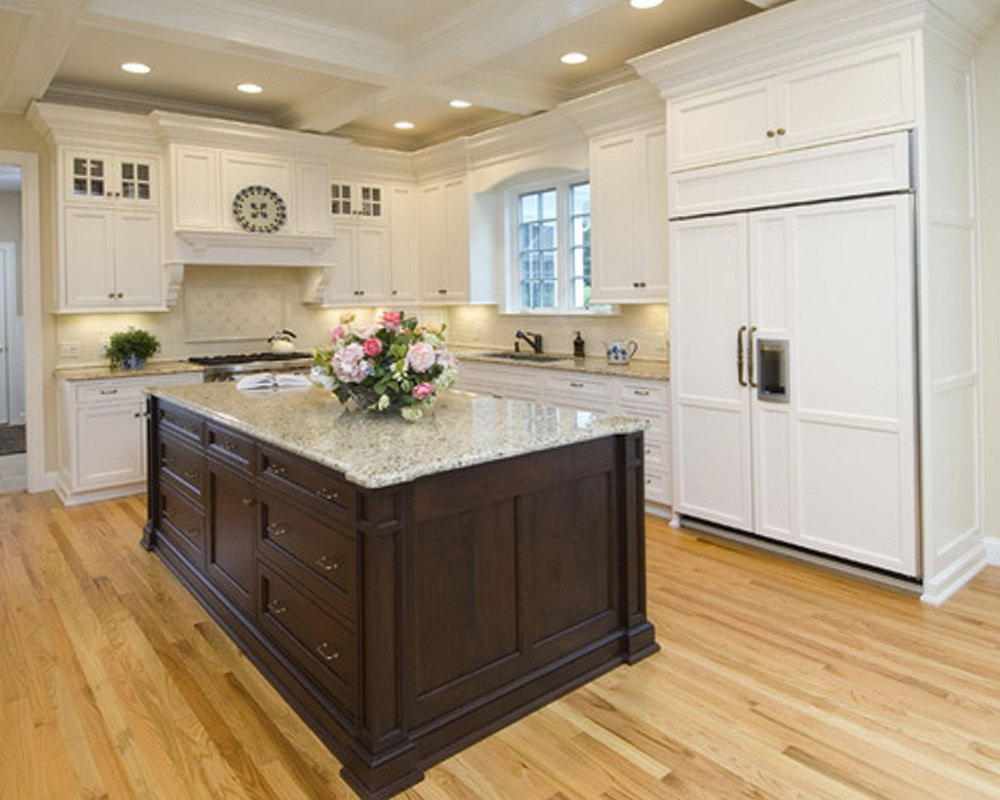 How To Stain Kitchen Cabinets Darker
