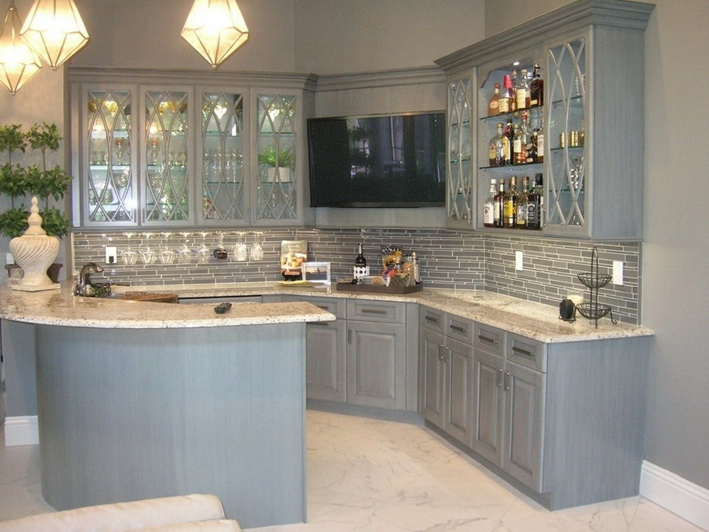 How To Stain Kitchen Cabinets Grey