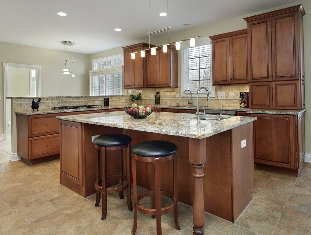 How To Stain Kitchen Cabinets Without Removing Them