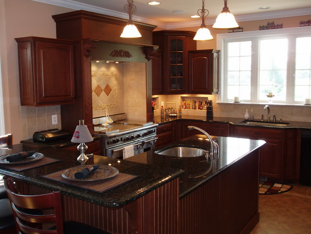 How To Update Cherry Kitchen Cabinets