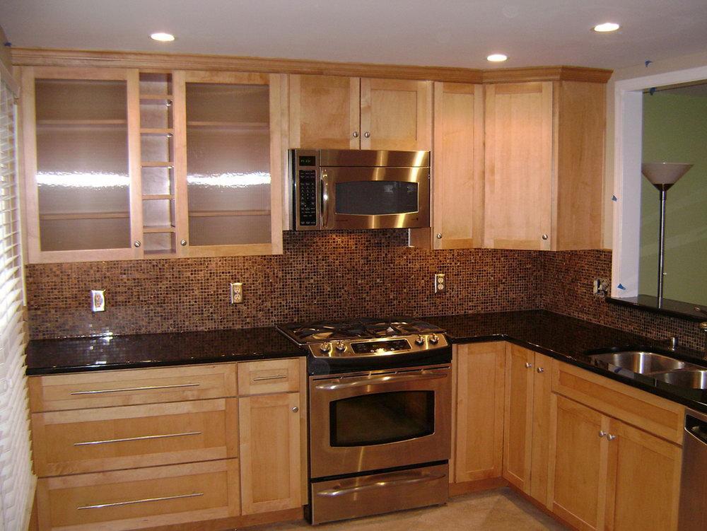 Ikea Birch Kitchen Cabinets