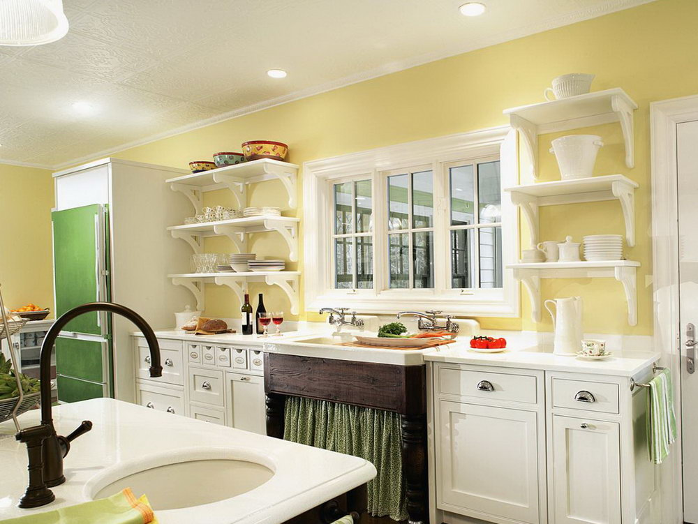 Ikea Yellow Kitchen Cabinets