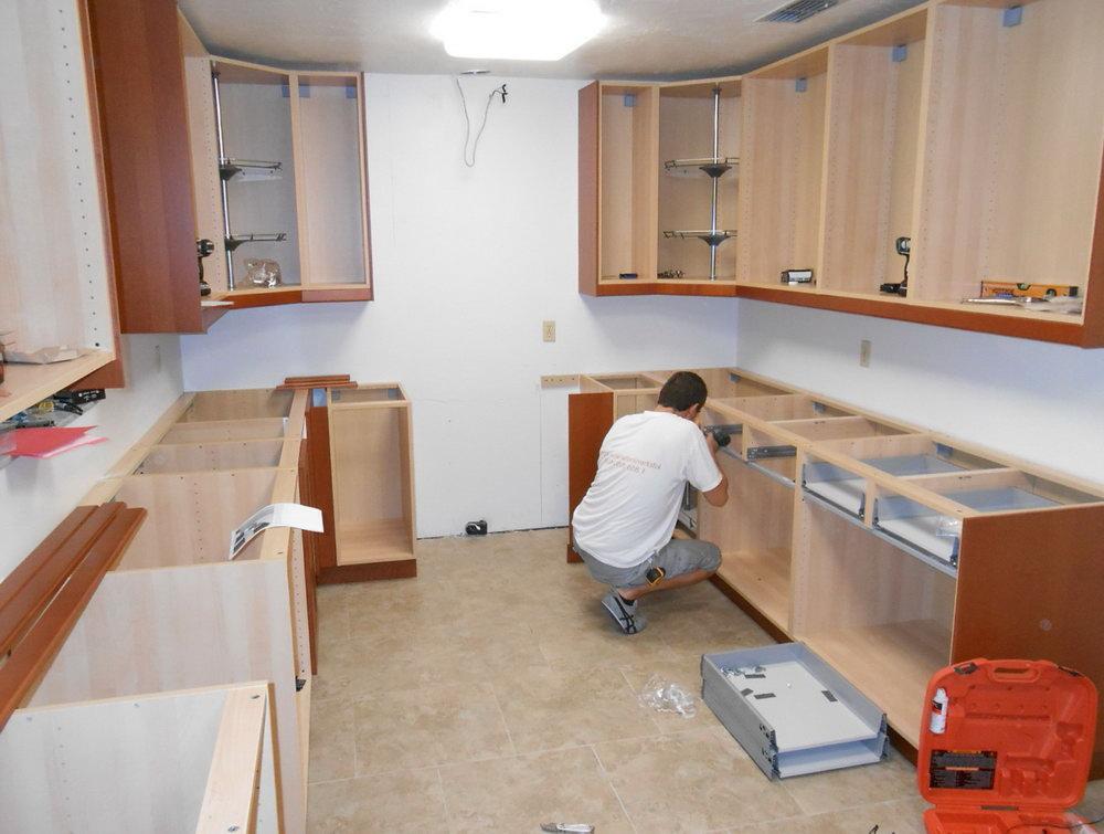 Install Kitchen Cabinets Diy