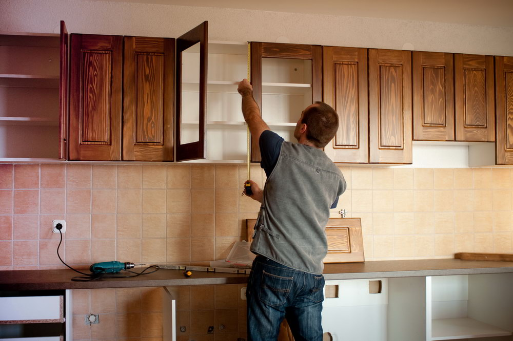 Install Kitchen Cabinets Or Floor First