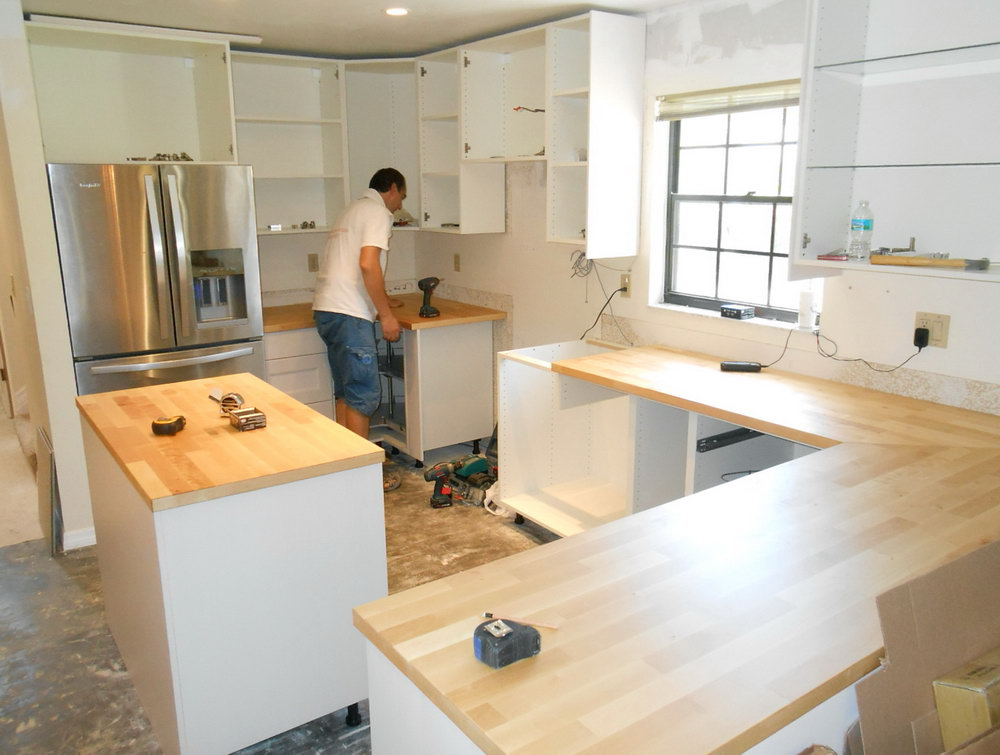 Install Kitchen Cabinets Without Studs