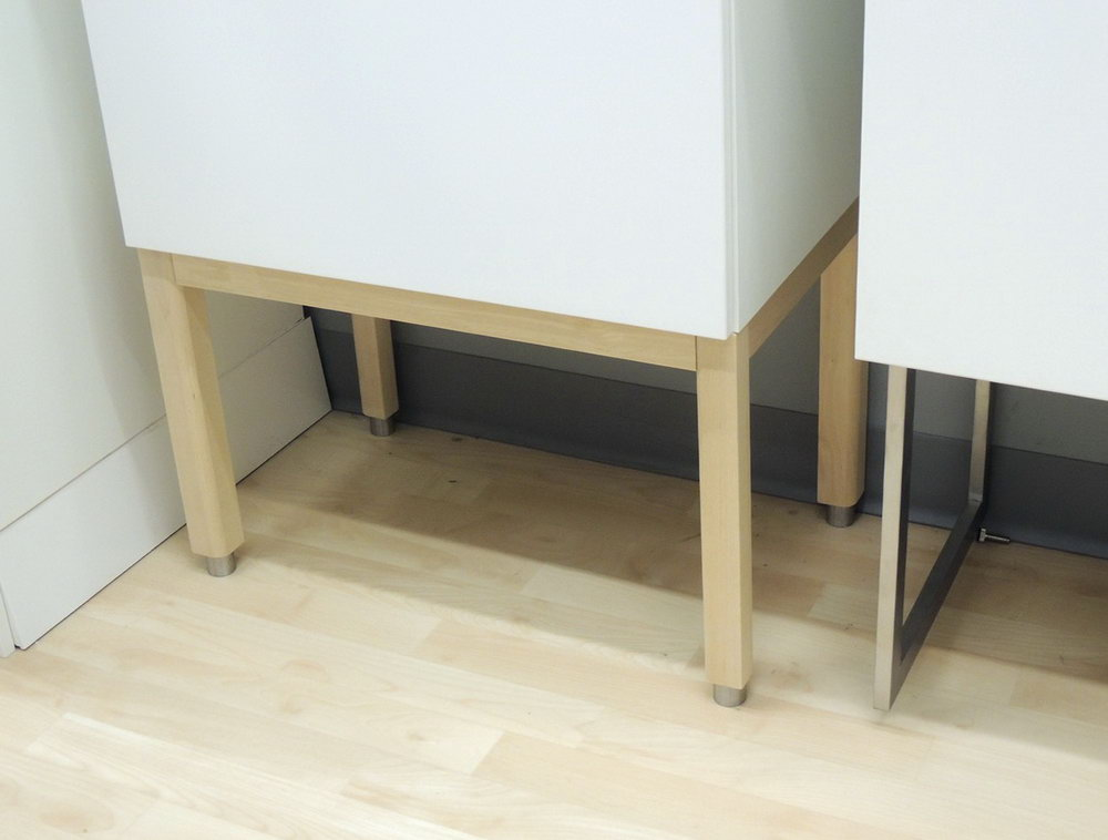 Kitchen Base Cabinets With Legs
