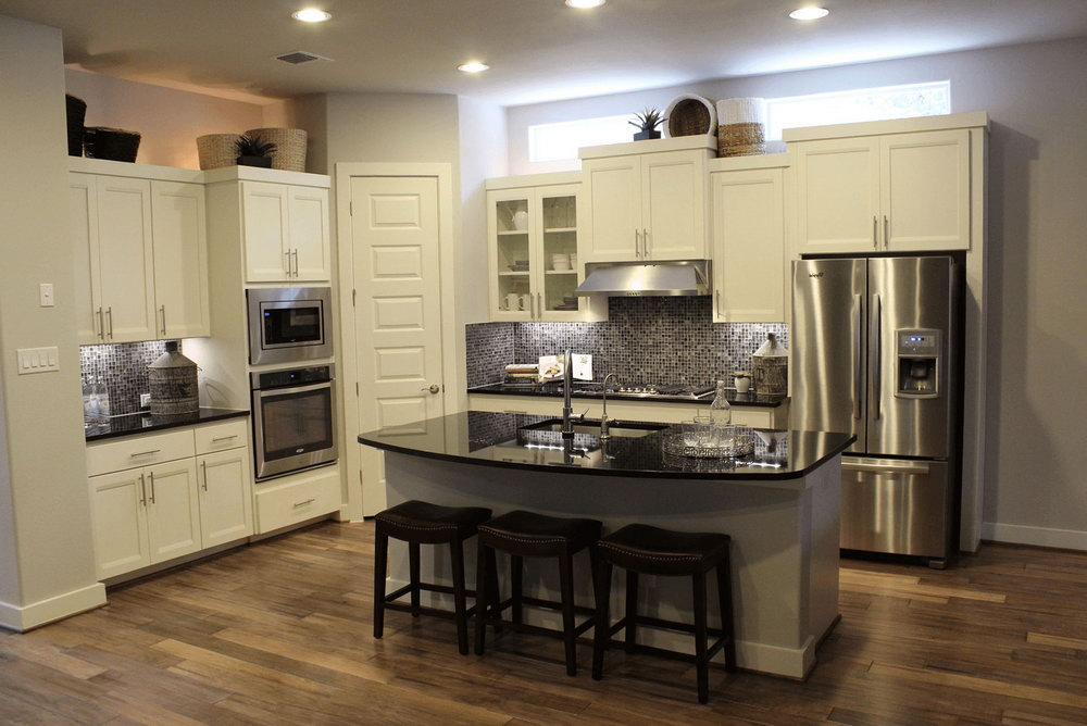 Kitchen Cabinet And Countertop Combinations