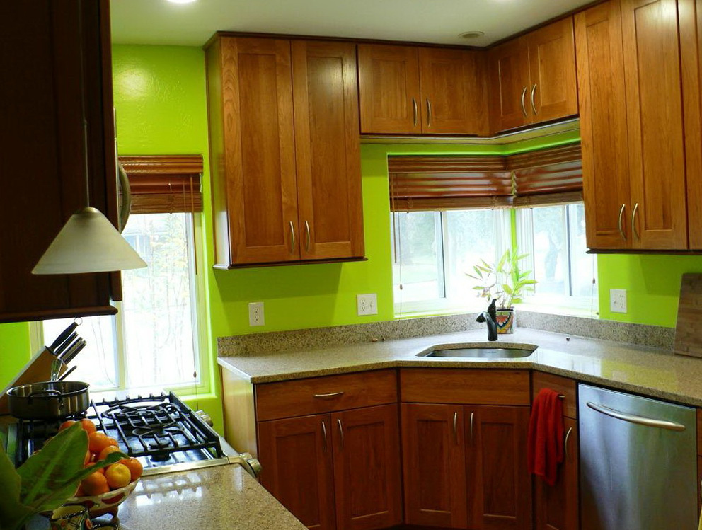 Kitchen Cabinet Countertop Color Combinations