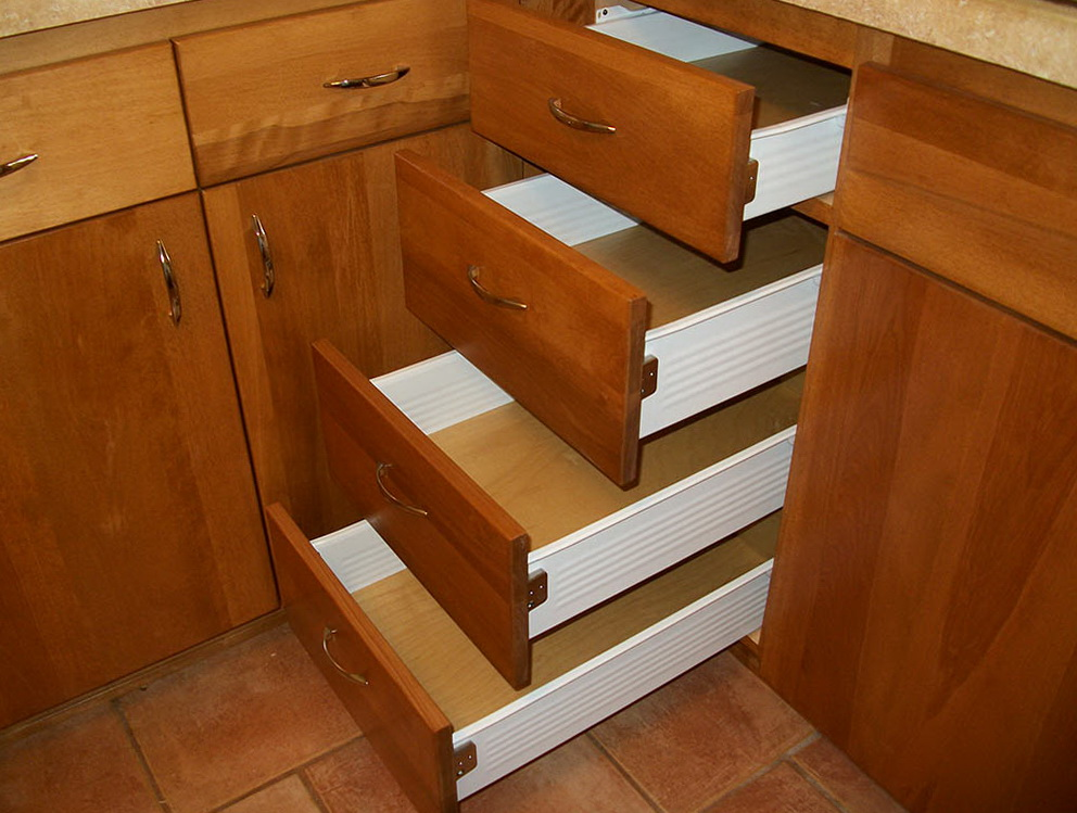 Kitchen Cabinet Drawers Design