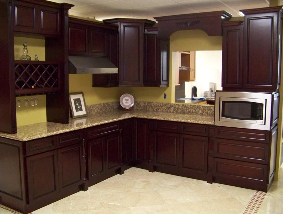 Kitchen Cabinet Granite Countertop Combinations