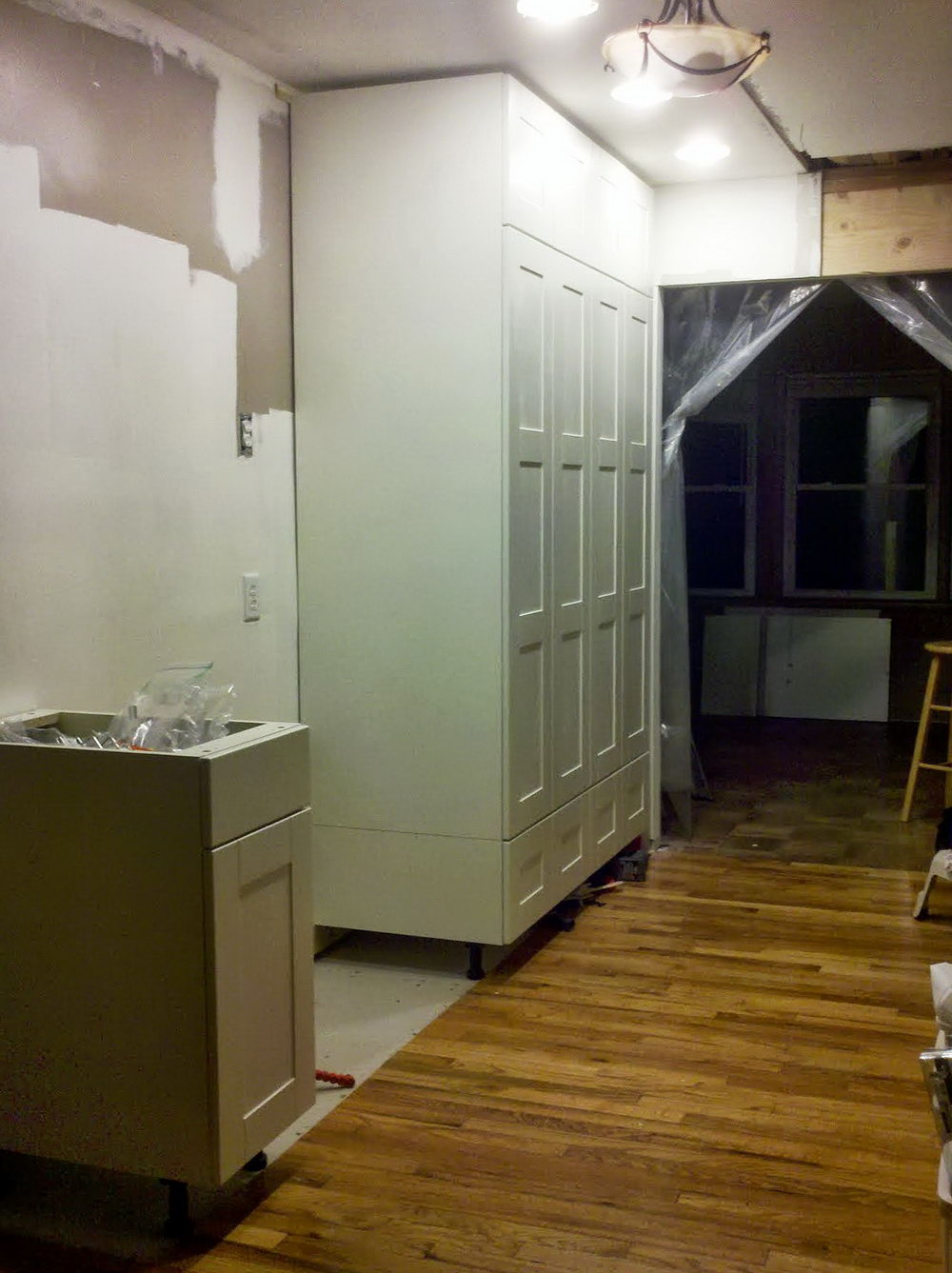 Kitchen Cabinet Height From Floor