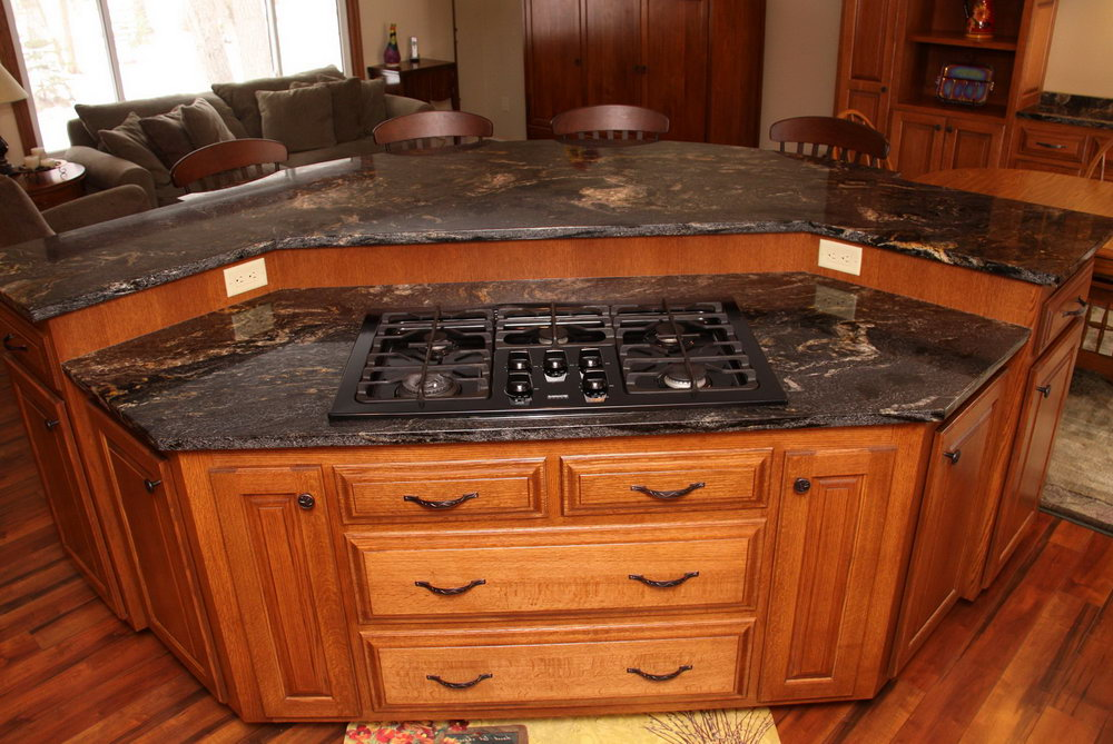 Kitchen Cabinet Island Design