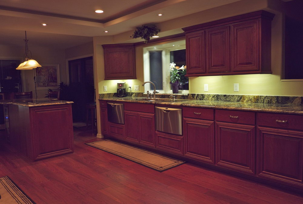Kitchen Cabinet Lighting Wiring