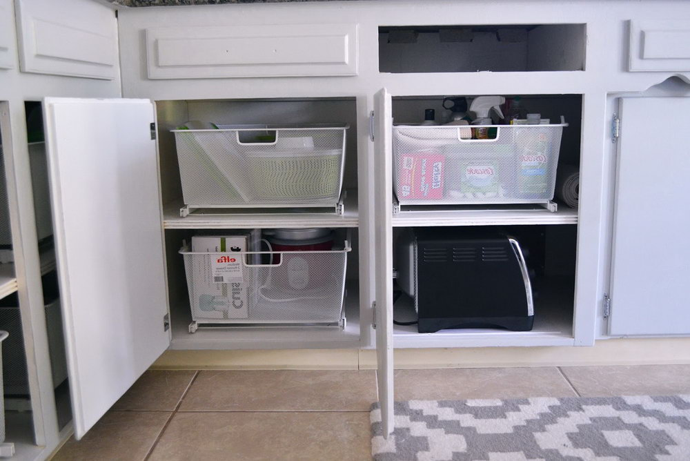 Kitchen Cabinet Organization Solutions