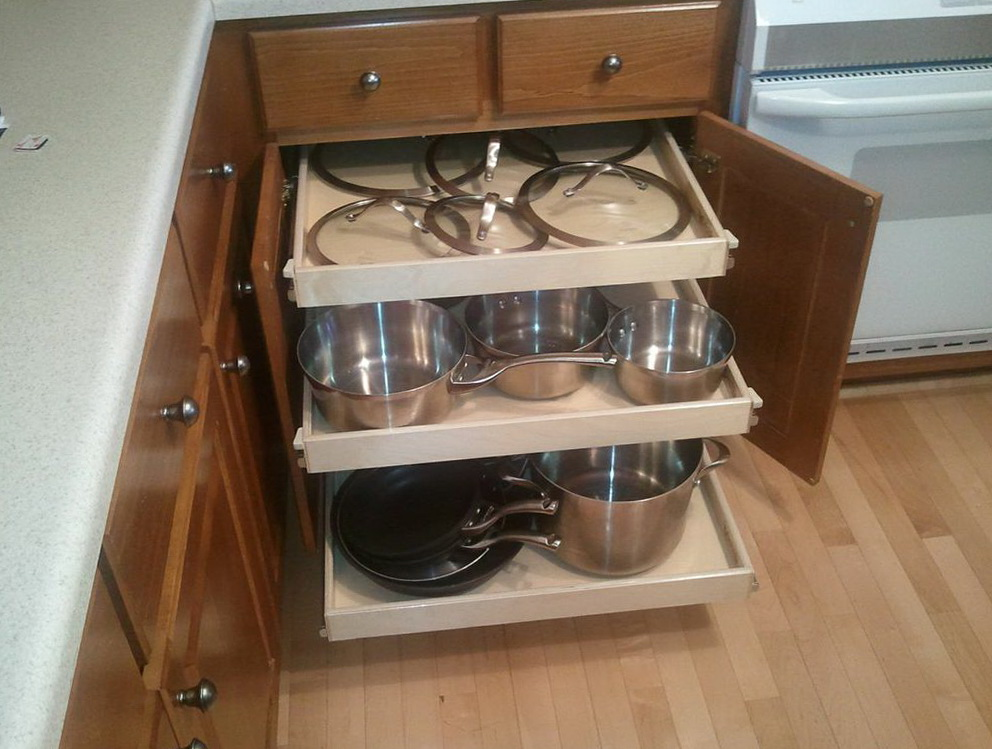 Kitchen Cabinet Pull Out Shelves Ikea