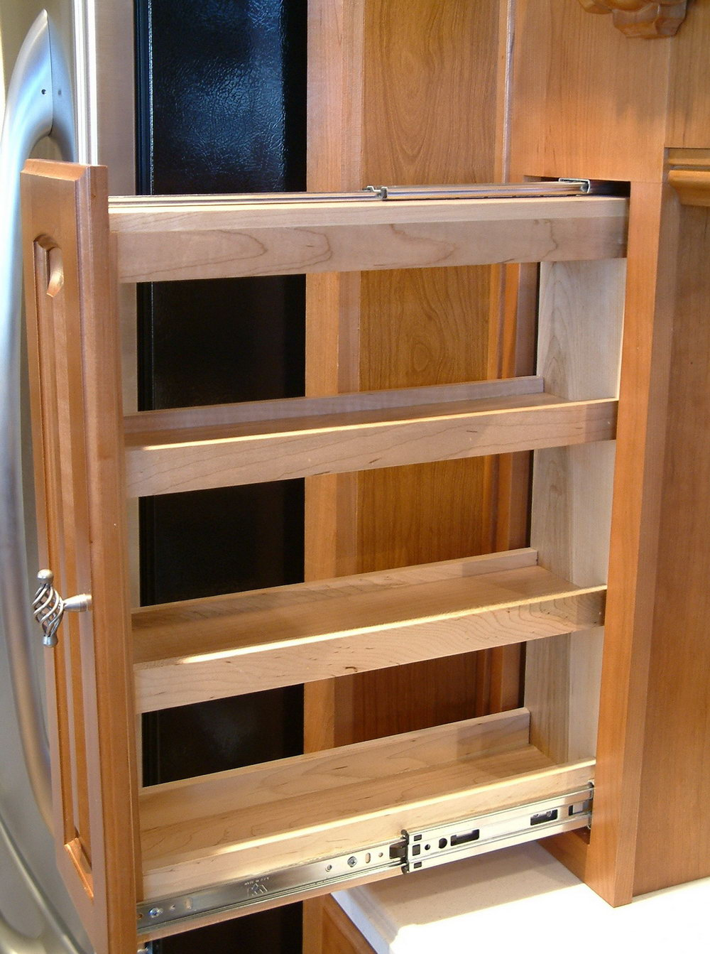 Kitchen Cabinet Spice Racks