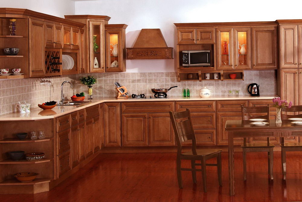 Kitchen Cabinet Stain Color Ideas