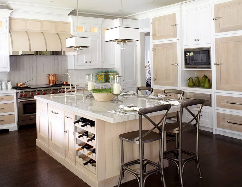 Kitchen Cabinet Wine Rack Ideas