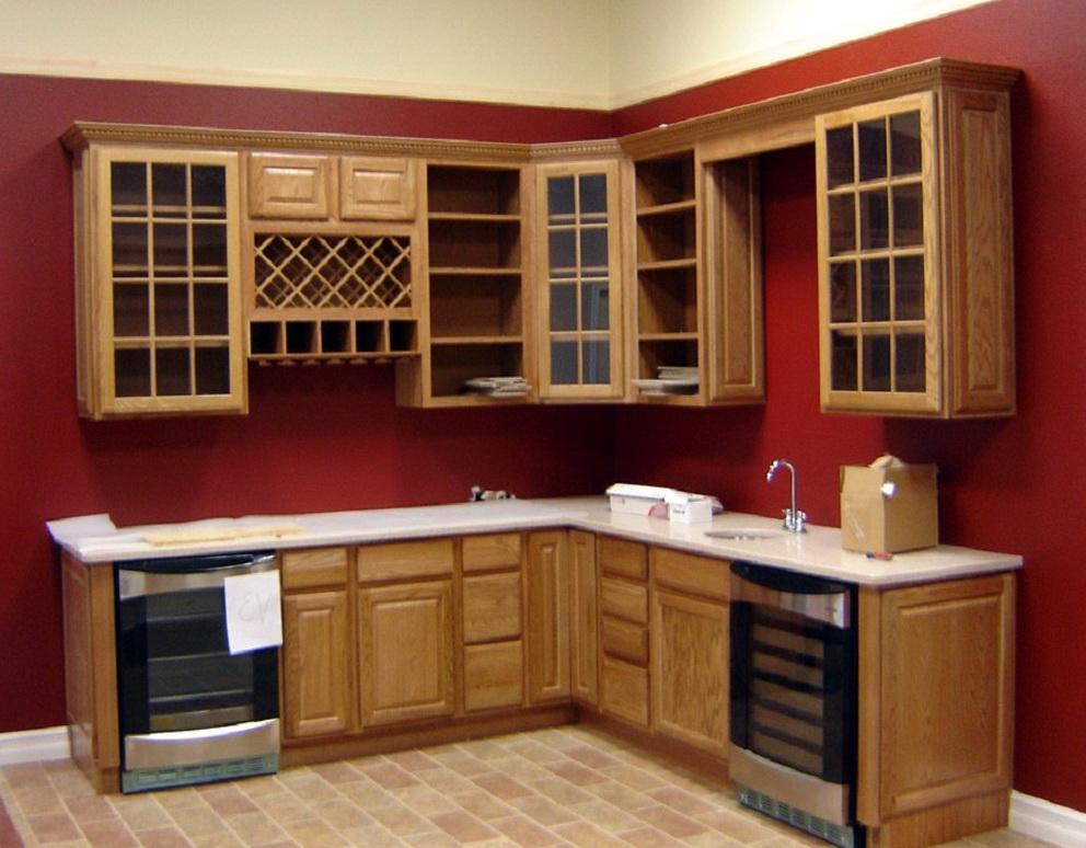 Kitchen Cabinets Glass Door Insert