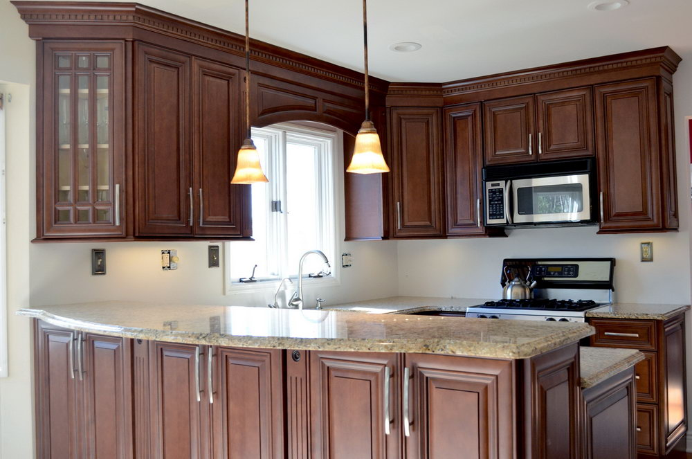 Kitchen Cabinets With Computer Desk
