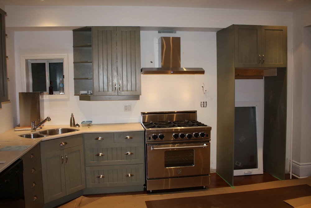 Kitchen Cabinets With Corner Sink