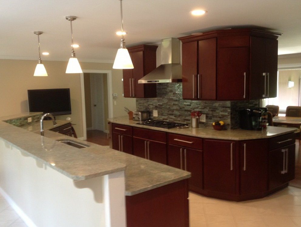 Kitchen Ideas With Cherry Wood Cabinets