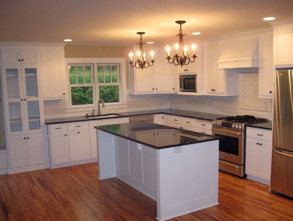 Kitchen Island From Stock Cabinets
