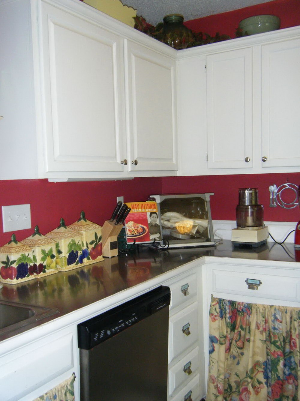 Kitchen Paint Colors With White Cabinets And Red Granite